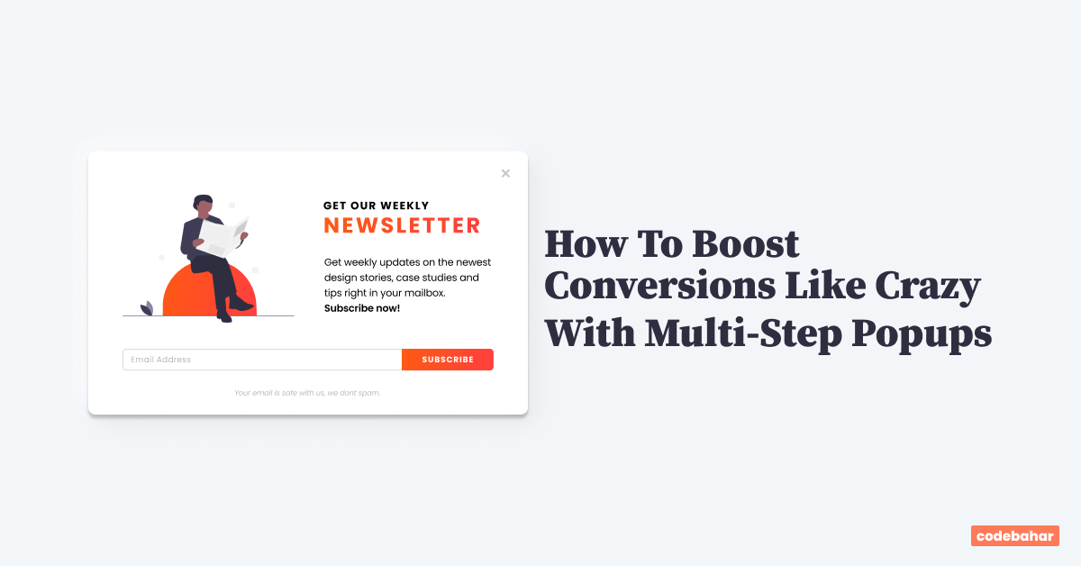 How to Boost Conversions Like Crazy with Multi-Step Popups