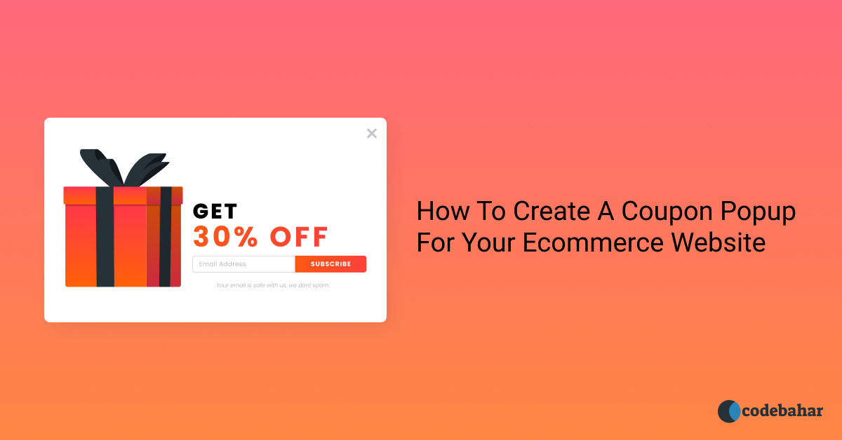 How To Create A Coupon Popup For Your Ecommerce Website