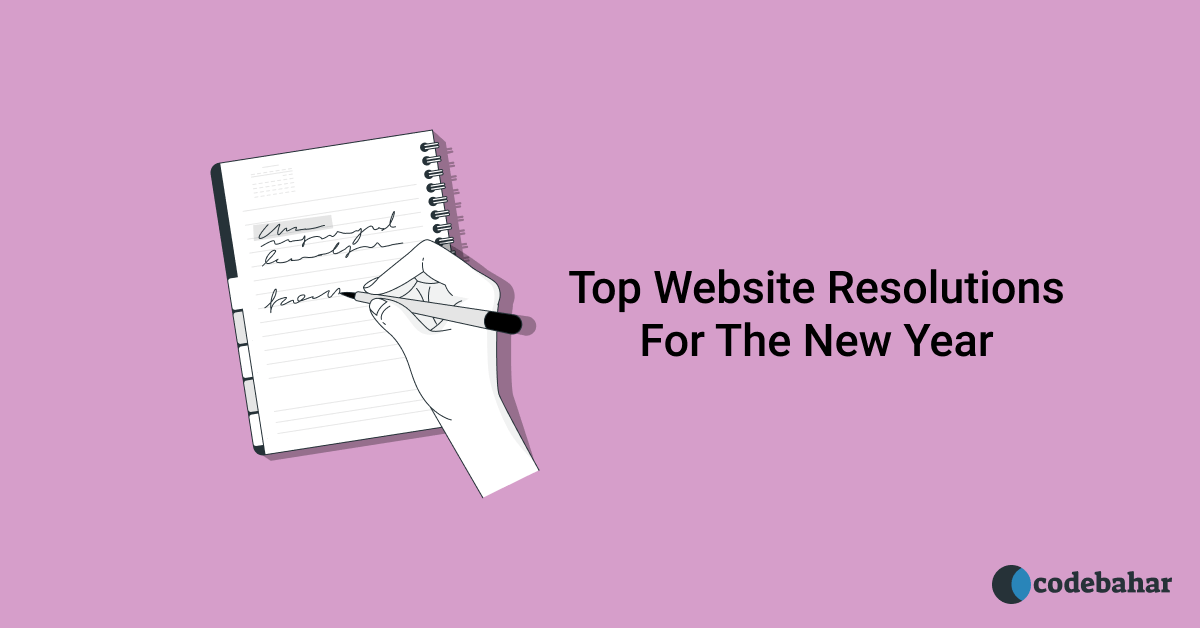 Top Website Resolutions For The New Year