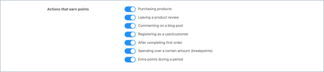 advanced coupon plugin loyalty points earning actions